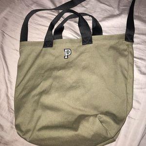 PINK olive tote bag